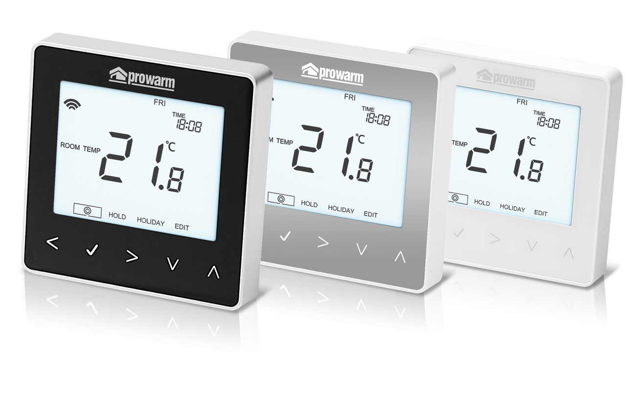 underfloor heating thermostats controls prowarm rh prowarm com